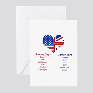 British american greeting cards cafepress british american translations greeting cards pack m4hsunfo
