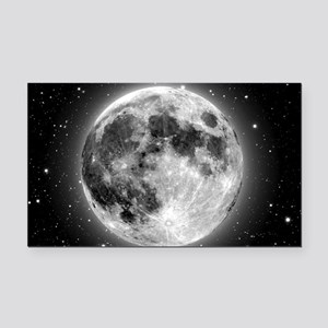 moon bag Rectangle Car Magnet
