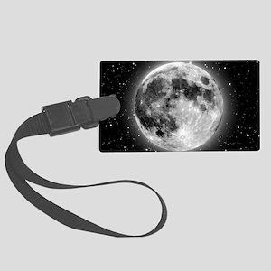 moon bag Large Luggage Tag
