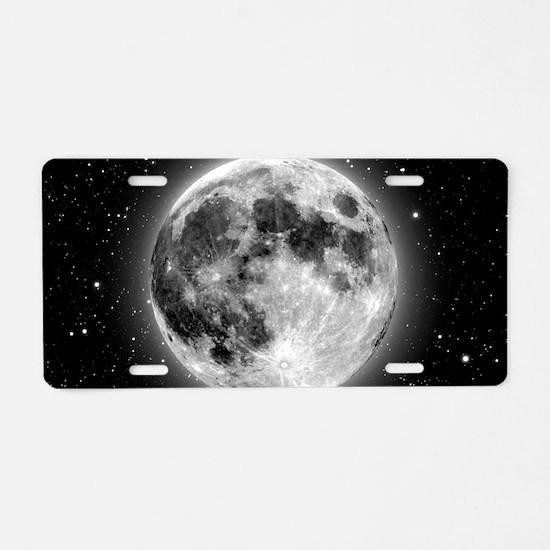 moon bag Aluminum License Plate