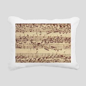 music22bag Rectangular Canvas Pillow