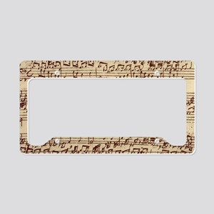 music22bag License Plate Holder