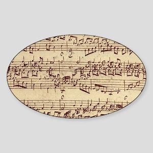 music22bag Sticker (Oval)