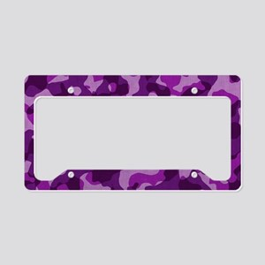 purplepinkcaMO License Plate Holder