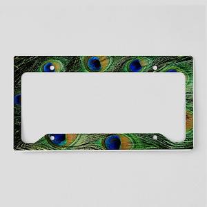 peacockbag License Plate Holder