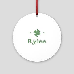 """Shamrock - Rylee"" Ornament (Round)"