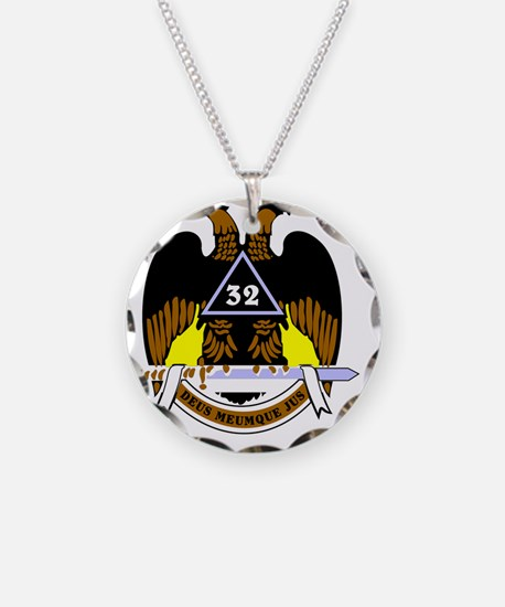 Scottish Rite: 32 Necklace
