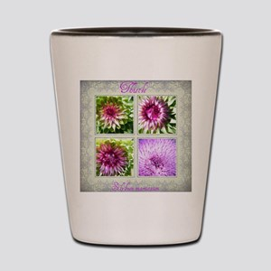 Thistle Collage 2012 Calender Shot Glass