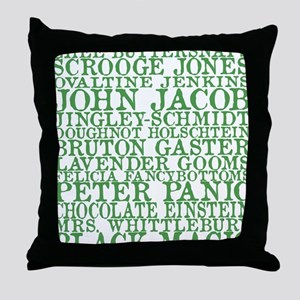 Gus Names Throw Pillow