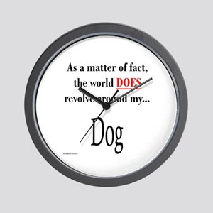 Dog World Wall Clock