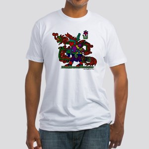 quetzal white t Fitted T-Shirt