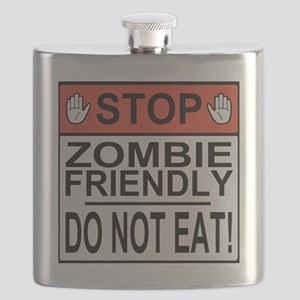 zombie friendly do not eat stop hands Flask