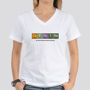 Caffeine Women's V-Neck T-Shirt