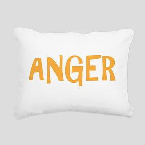 ANGERdrk Rectangular Canvas Pillow