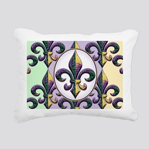 FleurMGbdsOpcMiniW Rectangular Canvas Pillow