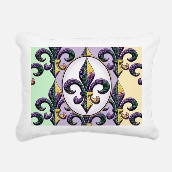 FleurMGbdsOpcMiniW Rectangular Canvas Pillow
