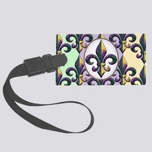 FleurMGbdsOpcMiniW Large Luggage Tag