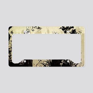 The Dead Teddy Bear Picnic by License Plate Holder