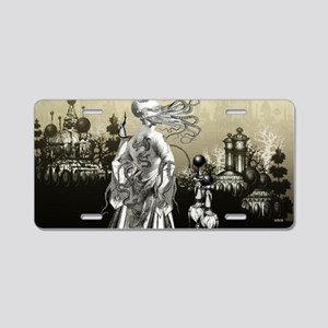The Cthulhu Crush II by Bet Aluminum License Plate