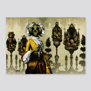 The Bride of the Headless Horseman  5'x7'Area Rug