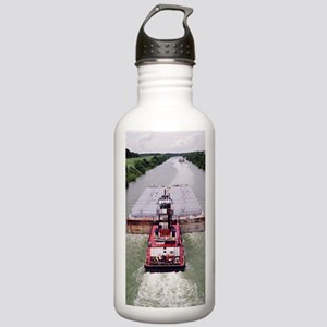 Work Boat on Texas  ca Stainless Water Bottle 1.0L