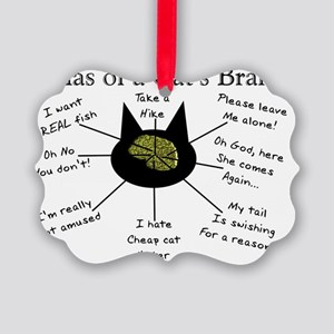 Atlas of a Cats Brain Picture Ornament