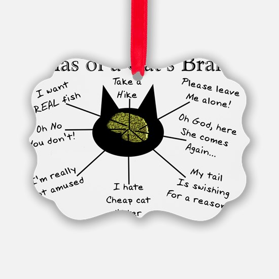 Atlas of a Cats Brain Ornament