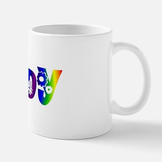 'JUDY' Flower Power Mug