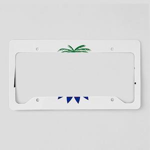LoveHaiti 1 License Plate Holder