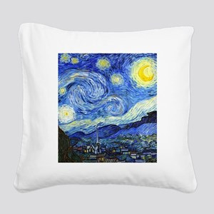 FF VG Starry Square Canvas Pillow