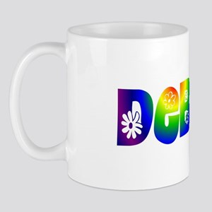 'DEBBIE' Flower Power Mug