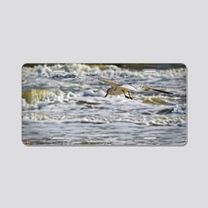 big wave gull Aluminum License Plate