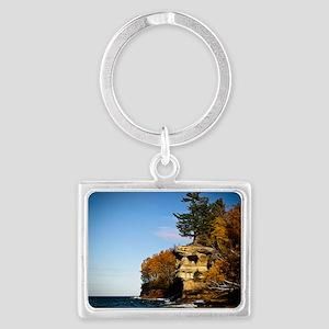 Chapel Rock Fall 2007 Landscape Keychain