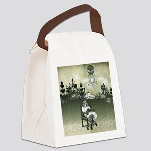 The Wonderland Reader by Bethalyn Canvas Lunch Bag