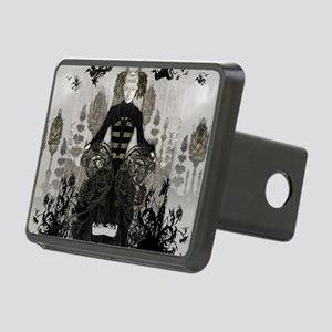 The Bee Queen by Bethalynn Rectangular Hitch Cover