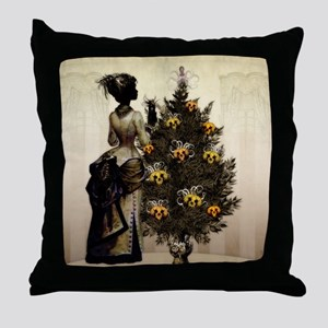 The Christmas Nightmare by Bethalynne Throw Pillow