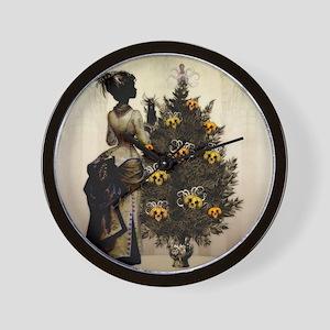 The Christmas Nightmare by Bethalynne B Wall Clock