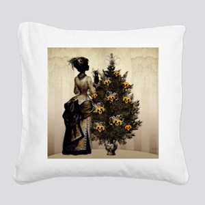 The Christmas Nightmare by Be Square Canvas Pillow