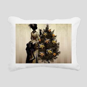 The Christmas Nightmare  Rectangular Canvas Pillow