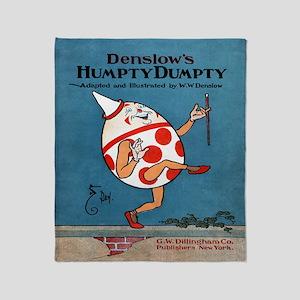 Denslows-Humpty-Dumpty-Book-iPad-2 Throw Blanket