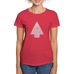 Arrow Tree Red Women's Dark T-Shirt