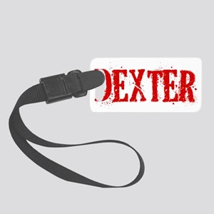 Dexter Blood Hat Small Luggage Tag