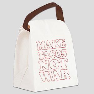Make Tacos Not War Apron Canvas Lunch Bag