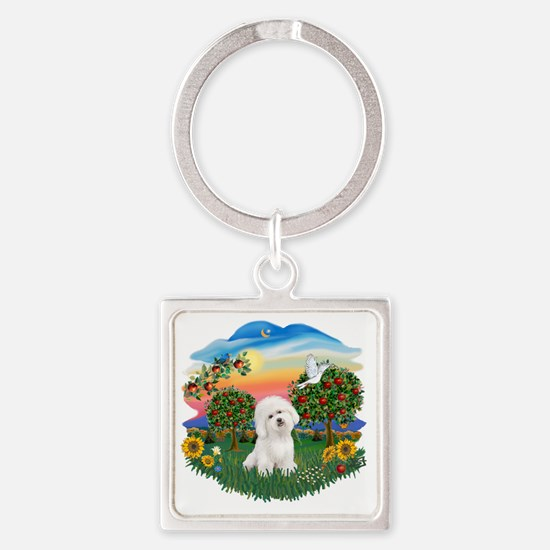 Bright Country - Bicho Frise 3 Square Keychain