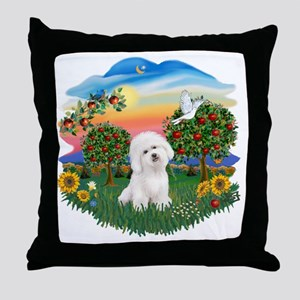 Bright Country - Bicho Frise 3 Throw Pillow