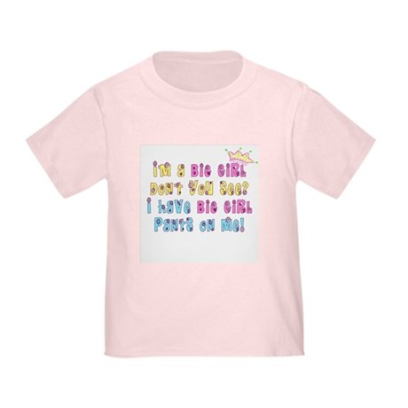 Potty Training Girl Toddler T-Shirt