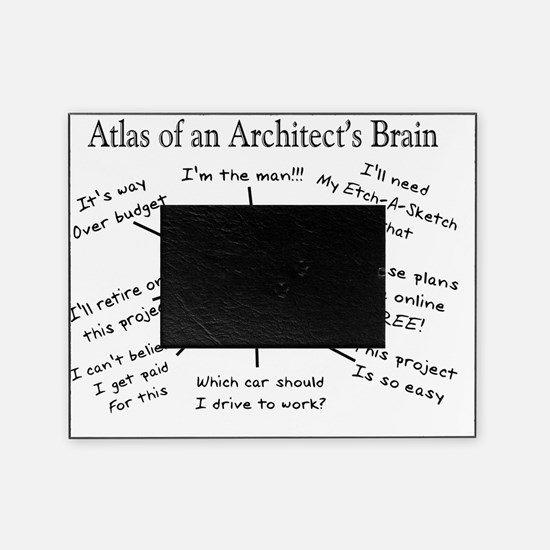 Atas of an Architects Brain Picture Frame