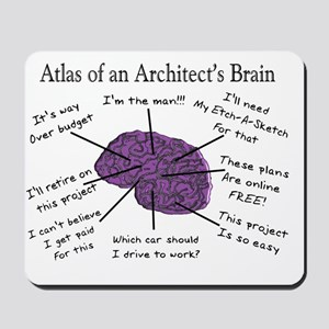Atas of an Architects Brain Mousepad