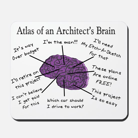 Atas of an Architects Brain Mousepad