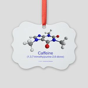 caffeine-plain Picture Ornament